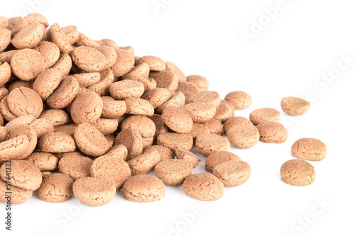 Pile of ginger nuts