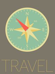 Vector Minimal Design - Compass