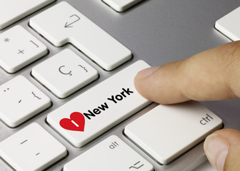 I love new york keyboard