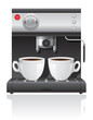 coffee maker vector illustration