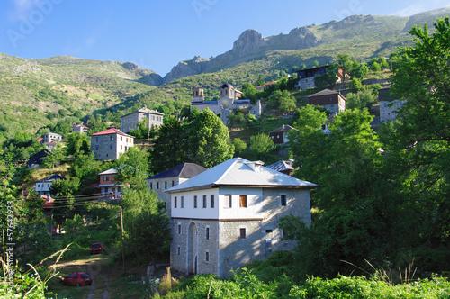 Galicnik village in Mavrovo National Park, Republic of Macedonia