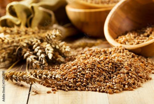 In de dag Aromatische wheat grains
