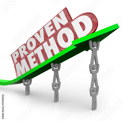 Proven Method Process Procedure Team Lifting Arrow