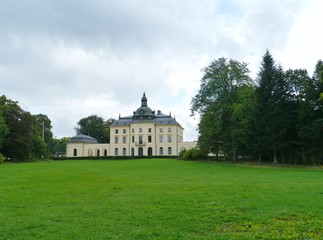 A historic castle in Smaland in Sweden