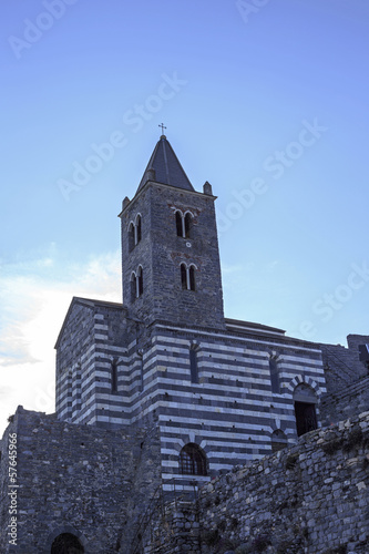 Church of St. Lawrence (circa 1582). Portovenere, Italy