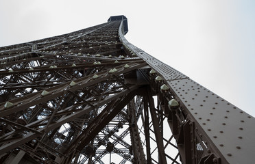 Outer Eiffel Tower Side Beam, Landscape