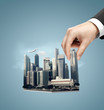 hand building city