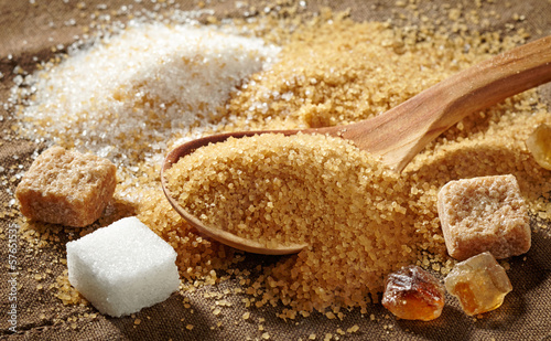 various types of sugar - 57651535