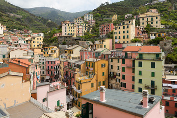 Colorful Buildings in Riomaggiore
