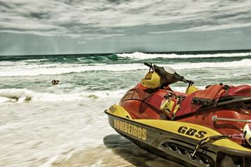 Brazilian fire department jet boat