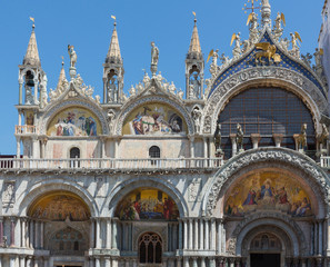 Saint Mark's Basilica Closeup