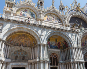 Saint Mark's Basilica Architecture Details