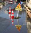 inondation d'une rue - 57655170