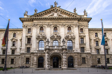 Palace of justice in Munich, Germany