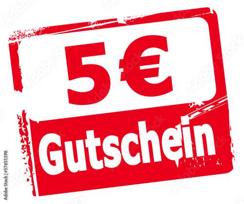 5 € Gutschein