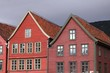 Bergen, Norway - famous Bryggen street