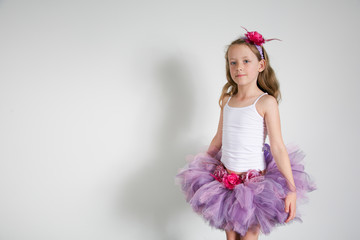 Pretty girl in a gorgeous tutu.