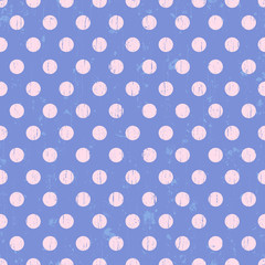 seamless circle dots background