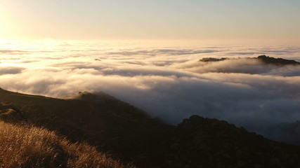 Los Angeles Morning Fog Time Lapse