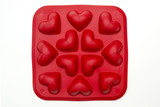Heart ice moulds