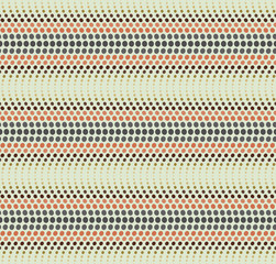 Wavy dotted line pattern