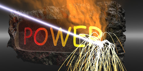 Power Symbol Banner