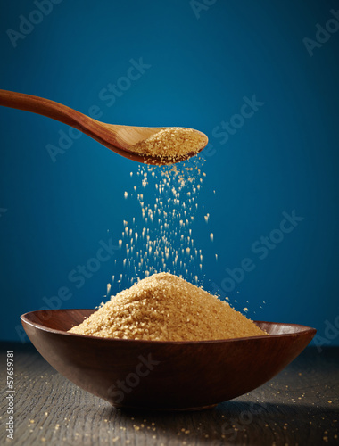 bowl of brown sugar