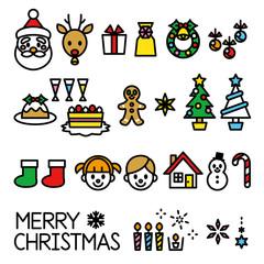 クリスマス 素材セット