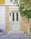 contemporary house entrance