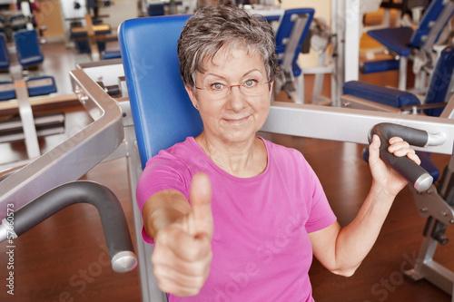 Daumen hoch zum Seniorensport
