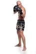 Kickboxer Boxhandschuhe zur Deckung