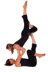 Acro Yoga Forward Flying