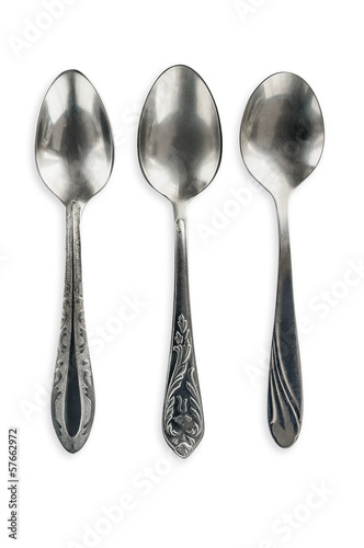 Antique Soviet Tea Spoons