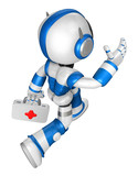 Flexibility as possible a sets of robot Mascot. Create 3D Humano