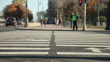 Crosswalk at Senate Square, St. Petersburg