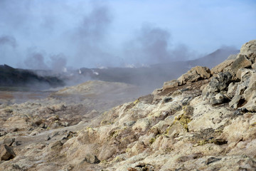 Hverir geothermal field  Iceland