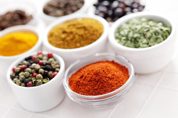 lots of spices