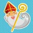 cartoon Sinterklaas (st. nicolas) - 57665930