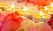 Alles Liebe: Romantisches Kerzenlicht