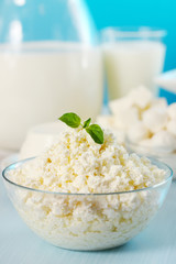 Cottage cheese with oregano