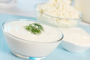 sour cream and dill