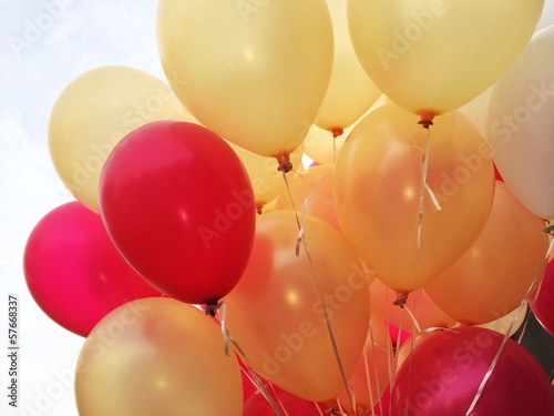 canvas print picture Colorful ballons