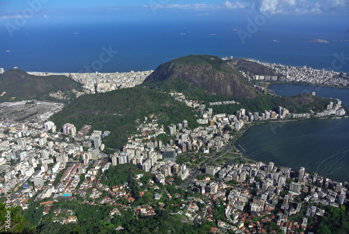 Panoramic view on Rio from Corcovado @ Brazil