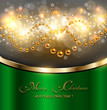 Elegant Christmas background, Vector illustration.