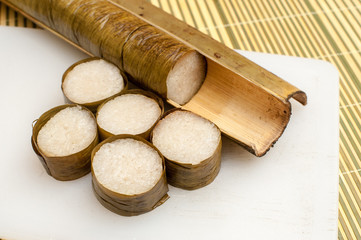 Lemang Ready to Eat on Eid Festival