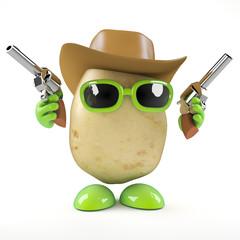 Cowboy potato