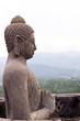 Buddha statue at Borobudur Temple. Yogyakarta, Central Java