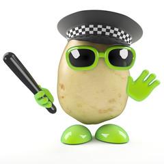 Police spud