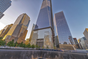 NEW YORK - JUNE 12: The 408-foot spire was placed on the top of