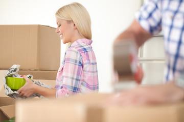 Women packing